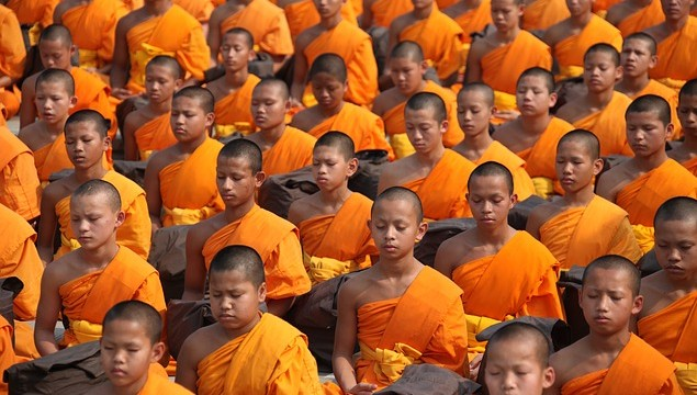 Mediating with monks is one of the key highlights on our nature and mediation tour.