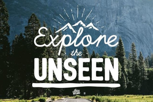 Explore the Unseen.