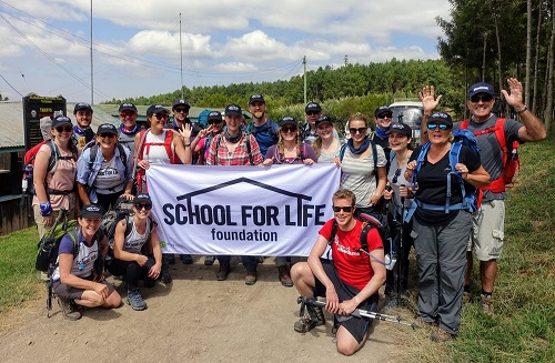 School for Life tour volunteer group