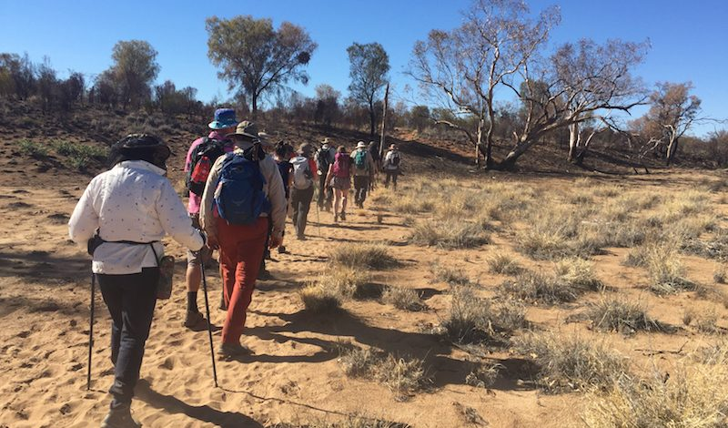 Trek to Tackle Poverty - Larapinta fundraise for a cause